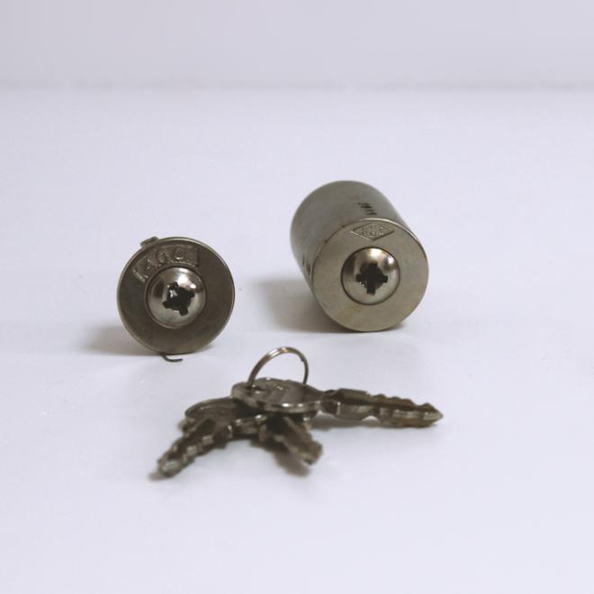 Conjunto de canhões para fechadura AGC 4 entradas