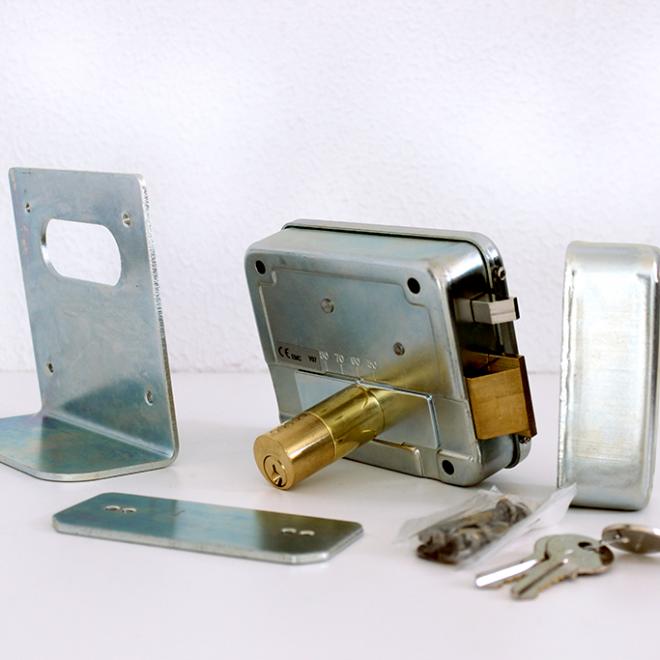 Fechadura ou Trinco elétrico de sobrepor VIRO; modelo 8992
