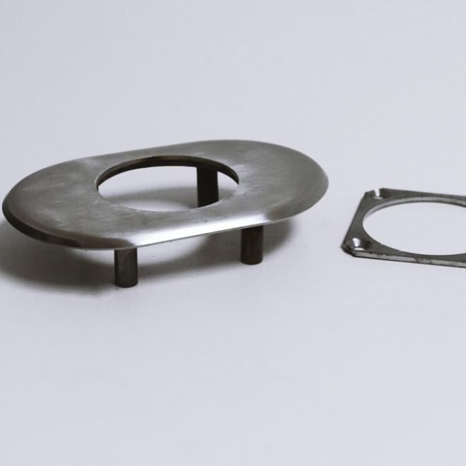 Espelho de segurança Inox 51mm