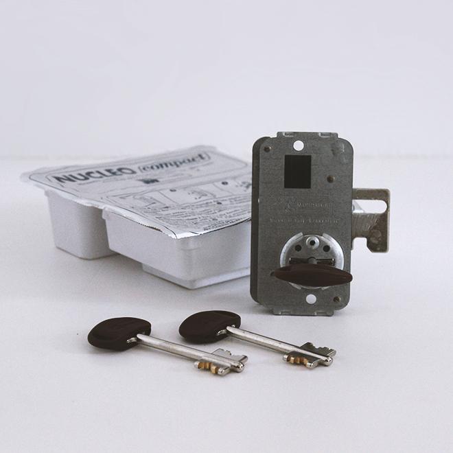 Núcleo para porta blindada MOTTURA; ref 91067